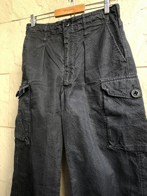 Old British military SAS black trousers 2