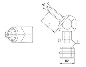 JTAT-12-M6-20 高圧専用ノズル
