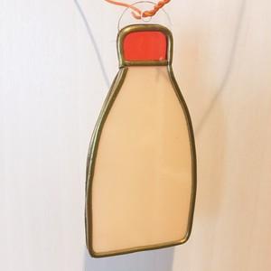 『私はマヨラーです』グラスアート