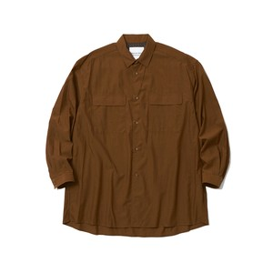 LONG SLEEVE SHIRT - BEIGE