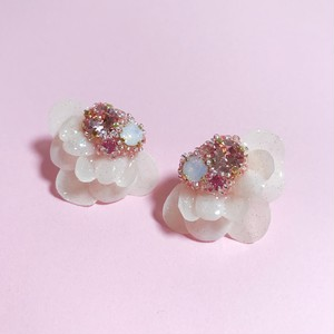【ピアス】phantomFLOWER jewel (17-12-11)