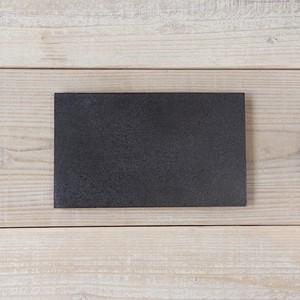 香川漆器 讃岐石地塗角皿(中) 中田漆木