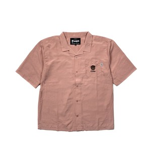 BB BEAR EMBROIDERY SHIRT / PINK