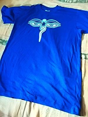 商品番号t-02ブッダ・アイTシャツ(Size:L)