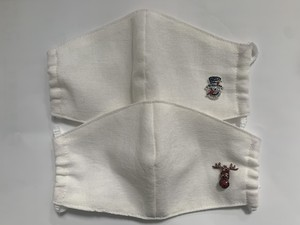 【Fukuhara Original】ラインストーンクリスマスマスク(949-999)