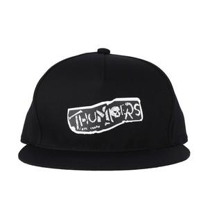 PUNK LOGO CAP (BLACK) / THUMPERS