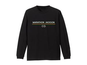LONG SLEEVE T-SHIRT M319202-BLACK / ロンT ブラック BLACK  / MARATHON JACKSON マラソン ジャクソン