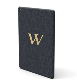iPad Premium Shrink Leather Case (Navy)