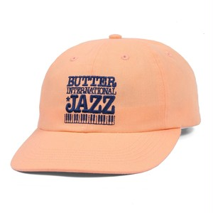 BUTTER GOODS JAZZ 6 PANEL CAP PEACH