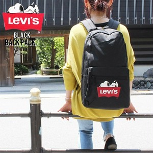 LEVIS リーバイス  9A8337 SNOOPY  US SNOOPY PEAUNUTS スヌーピー フロントロゴ バックパック