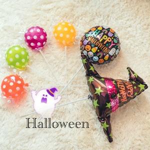 ハロウィン スティック6本セット バルーン ハロウィン小物 パーティーアイテム 飾り付け フォトプロップス プレゼント