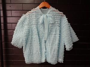 Fril lingerie bed jacket フリルランジェリーベッドジャケット
