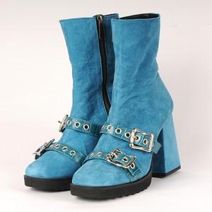 hs18AW-IRS02 BELT SHORT BOOTS (blue)