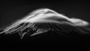 SONY銀座 個展開催記念価格 2Lプリント【Noble mountain:高貴な山】