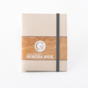 """Durable Paper Wallet """"REMORA Wide"""" / Ivory&Gray"""