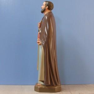 聖ペトロ像【36cm】室内用カラー仕上げ