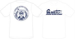 呉海自カレーTシャツ (WHITE)
