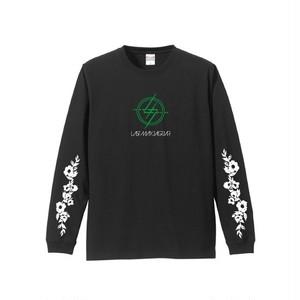 新バンドロゴ/ロングTシャツ <ブラック>