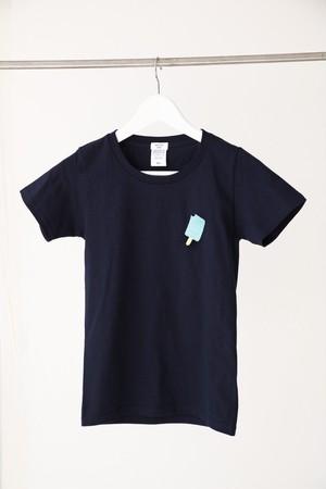 アイスキャンディー刺繍Tシャツ