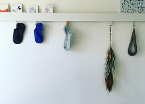 なにがなんでも猫に好かれたい人のための靴下 -BLUE-