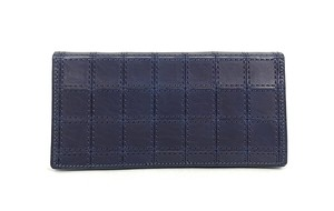 RE.ACT Stitch Indigo Long Wallet