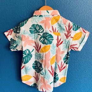 南国リーフのキッズアロハシャツ