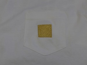 GOLD POCKET TEE