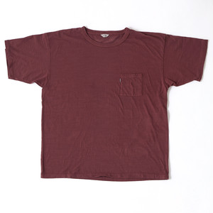 【FILL THE BILL】《UNISEX》SLAB POCKET TEE - COCOA BROWN