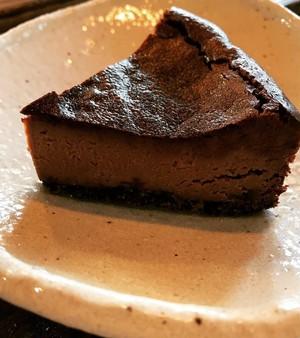 ピーカンナッツのチョコチーズケーキ