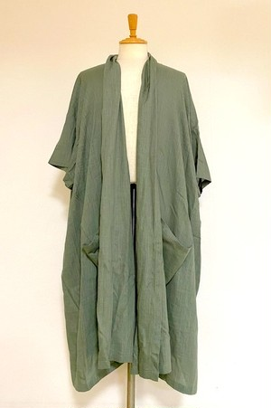 3/4 Sleeve Gown Sage Green