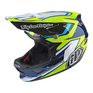 Troy Lee Designs トロイリーデザイン D3 COMPOSITE CADENCE BLACK/YELLOW サイズL / セール ¥53,028 → ¥37,120
