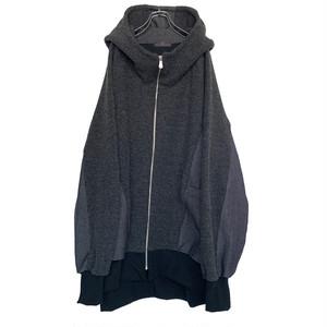 Dolman-Hoodie (dark grey)