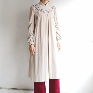 Japanese used vintage Smock dress