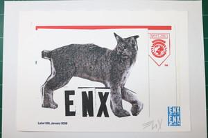 """ENX print """"M"""""""