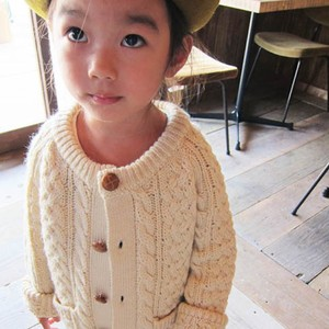 pony go round knit cardigan