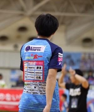 長袖【背中・中】お好きな選手TRシャツのネーム入れ(④背中中サイズ50㎠以内)