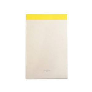 MEMO PAD_yellow / 篠原紙工