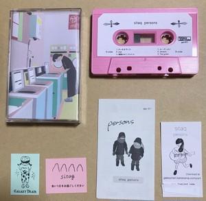 "gal-071 sitaq ""persons"" 桜ピンク カセットテープ"