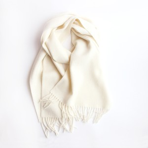 THE INOUE BROTHERS/Brushed Scarf/Ecru