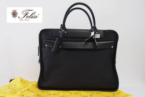 【Sold Out】フェリージ|Felisi|伊勢丹別注|バリスティックナイロン|ブリーフケース|8637/2/AS+A|ブラック
