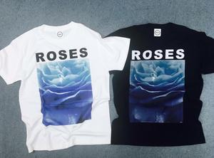 【受注販売】Aofuji Sui×THE NOVEMBERS ROSES T-Shirts (MERZ-0125)【10月上旬発送予定】