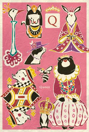 ポストカード『Queen』