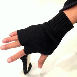 Knit Mitten(Mens) Black
