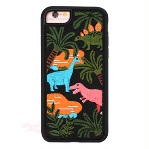 Embroidery Case(Dinosaur)