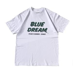 CHANCEGF - Blue Dream Tee - white,green