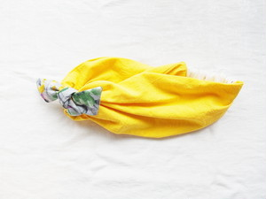 cotton hair band(yellow)