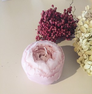 flower candle(peony)