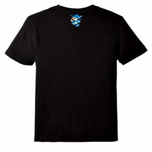 バベルの塔 Tシャツ 黒  / GAMES GLORIOUS