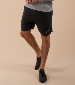 GymShark ジムシャーク perforated two in one shorts ショーツ– ブラック【Black】 メーカー直輸入品!