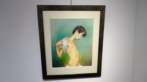 絵画「スリムボーイ」(2008年)